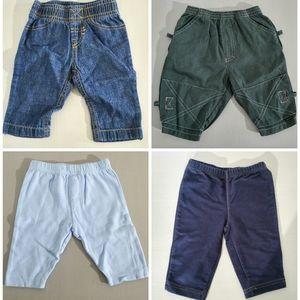3-6M Set of Pants | Bundle of four